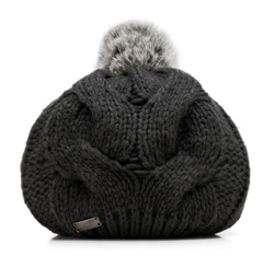 Women's hat, black, 85-HF-019-1, Photo 1