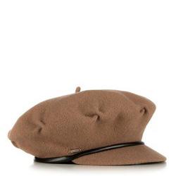 Czapka damska, brązowy, 89-HF-100-5, Zdjęcie 1