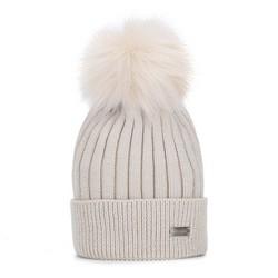 Hat, beige, 93-HF-010-0, Photo 1