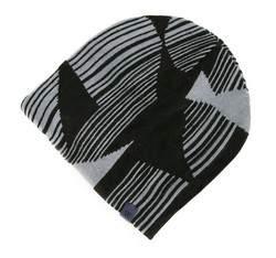 Men's hat, black-grey, 83-HF-017-1, Photo 1