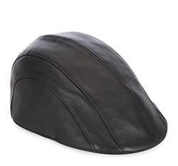 Men's hat, black, 83-HF-100-1-58, Photo 1