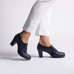 Women's shoes, navy blue, 92-D-653-7-40, Photo 1