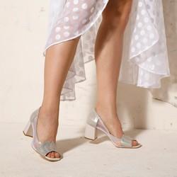 Shoes, silver, 92-D-955-0-38, Photo 1
