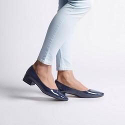 Shoes, navy blue, 92-D-953-7-35, Photo 1
