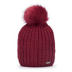 Hat, red, 93-HF-002-F, Photo 1