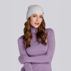 Women's beanie hat, grey, 93-HF-007-8, Photo 1