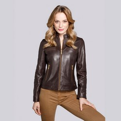 Jacket, brown, 92-09-602-5-S, Photo 1