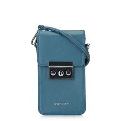 Damska listonoszka mini, niebieski, 92-2Y-564-7, Zdjęcie 1