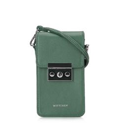 Damska listonoszka mini, zielony, 92-2Y-564-Z, Zdjęcie 1