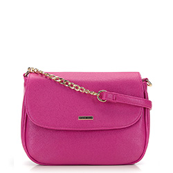 Faux leather chain bag, pink, 92-4Y-305-P, Photo 1