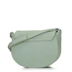 Damska listonoszka saddle bag, miętowy, 92-4Y-223-Z, Zdjęcie 1
