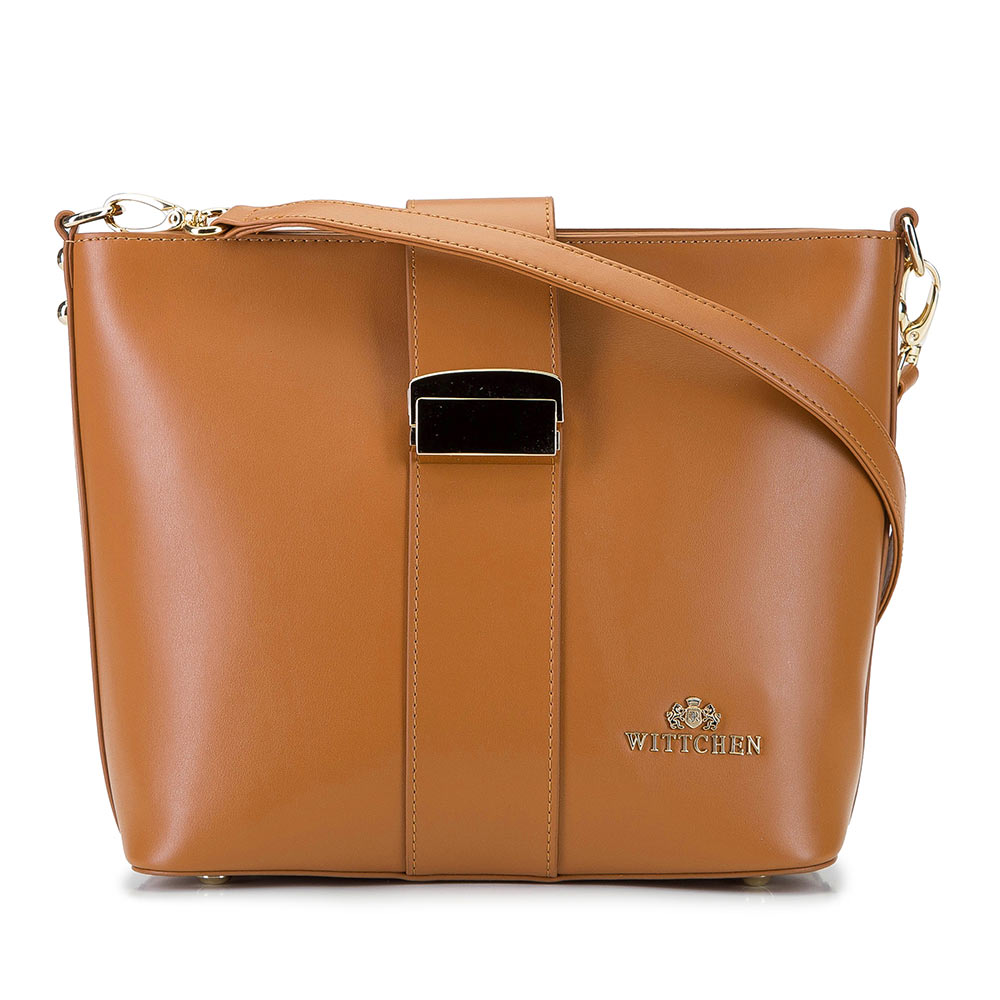 Kožená dámska kabelka 92-4E-303-5