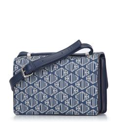Handbag, navy blue, 93-4Y-539-N, Photo 1
