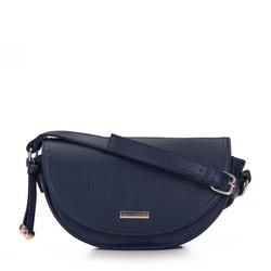 Shoulder bag, navy blue, 93-4Y-904-N, Photo 1