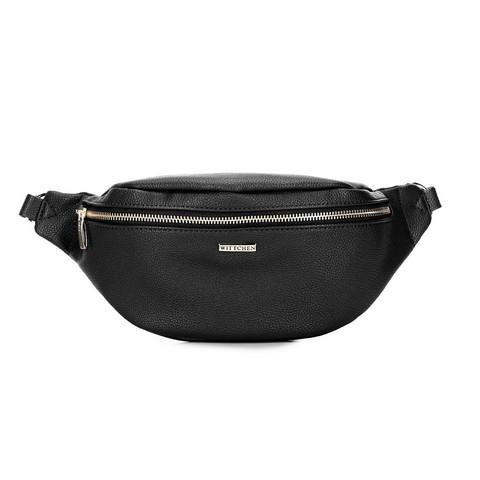 Damska torebka nerka klasyczna, czarny, 92-4Y-303-10, Zdjęcie 1