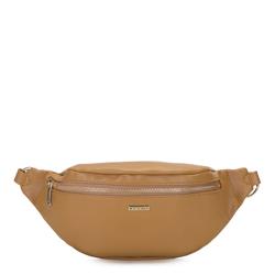 Damska torebka nerka klasyczna, camelowy, 92-4Y-303-50, Zdjęcie 1