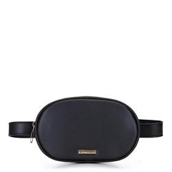 Damska torebka nerka pudełkowa, czarny, 92-4Y-308-1, Zdjęcie 1