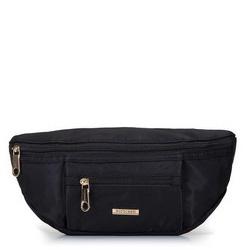 Damska torebka nerka z nylonu, czarny, 92-4Y-108-1, Zdjęcie 1