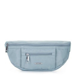 Damska torebka nerka z nylonu, jasny niebieski, 92-4Y-108-7, Zdjęcie 1