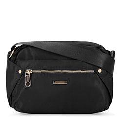 Damska torebka nylonowa, czarny, 92-4Y-101-1, Zdjęcie 1