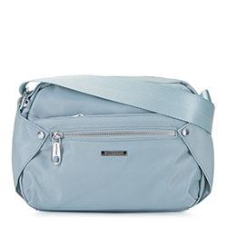 Damska torebka nylonowa, jasny niebieski, 92-4Y-101-7, Zdjęcie 1