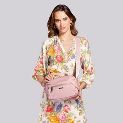 Damska torebka nylonowa, jasny róż, 92-4Y-101-P, Zdjęcie 1