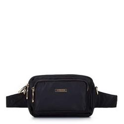 Damska torebka z nylonu, czarny, 92-4Y-109-1, Zdjęcie 1