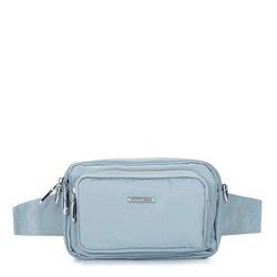 Damska torebka z nylonu, błękitny, 92-4Y-109-7, Zdjęcie 1