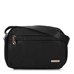 Damska torebka z nylonu, czarny, 92-4Y-110-1, Zdjęcie 1