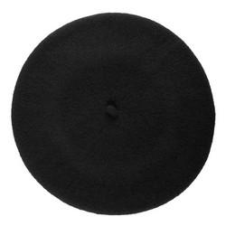 Women's beret, black, 91-HF-101-1, Photo 1