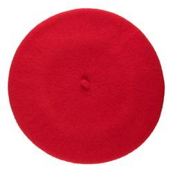 Women's beret, red, 91-HF-101-2, Photo 1