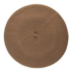 Women's beret, brown, 91-HF-101-5, Photo 1