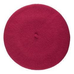 Women's beret, purple, 91-HF-101-P, Photo 1
