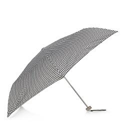 Damski parasol manualny mały, czarno - biały, PA-7-168-X1, Zdjęcie 1