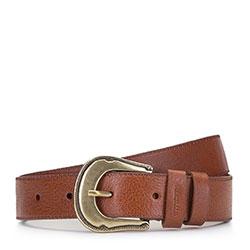 Women's belt, brown, 90-8D-306-5-L, Photo 1