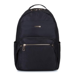 Damski plecak nylonowy, czarny, 92-4Y-100-1, Zdjęcie 1