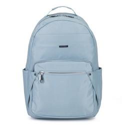 Damski plecak nylonowy, jasny niebieski, 92-4Y-100-7, Zdjęcie 1