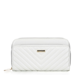 Women's quilted wallet, white, 92-1Y-576-0, Photo 1