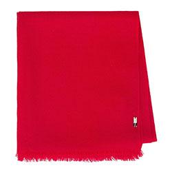 Damski szal wełniany cienki, czerwony, 91-7D-X14-2, Zdjęcie 1