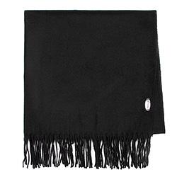 Damski szal klasyczny szeroki, czarny, 91-7D-X10-1, Zdjęcie 1