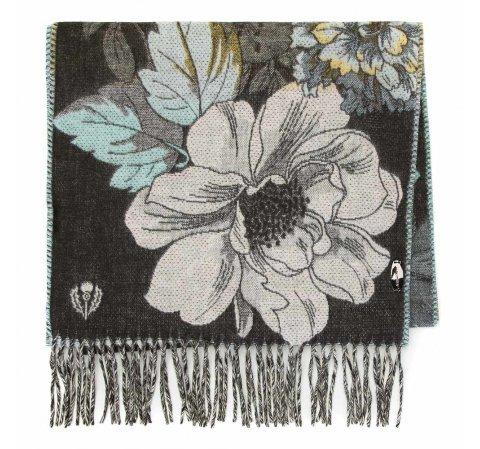 Damski szal z motywem kwiatowym, multikolor, 91-7D-X25-X2, Zdjęcie 1