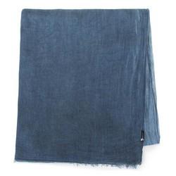 Damski szal z wiskozy jednokolorowy, niebieski, 84-7D-X05-7, Zdjęcie 1