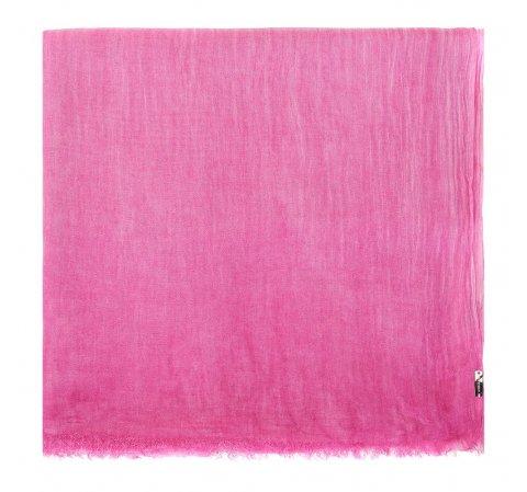 Damski szal z wiskozy jednokolorowy, różowy, 84-7D-X05-P, Zdjęcie 1