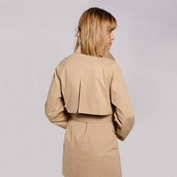Jacket, beige - silver, 92-9N-400-9-XS, Photo 1