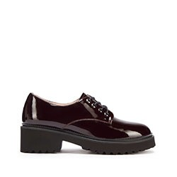 Shoes, burgundy, 93-D-950-3-37, Photo 1