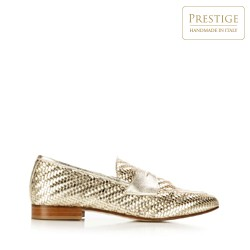 Shoes, gold, 92-D-128-G-39_5, Photo 1