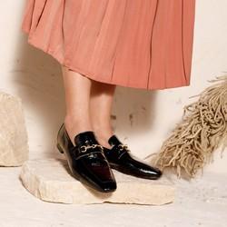 Women's leather bit loafers, black, 92-D-158-1-38, Photo 1