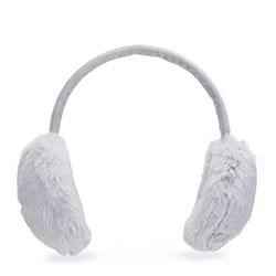 Women's earmuffs, grey, 93-HF-001-8, Photo 1