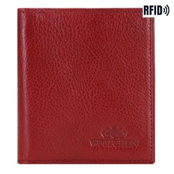 skórzane etui na karty kredytowe, czerwony, 21-2-291-3L, Zdjęcie 1