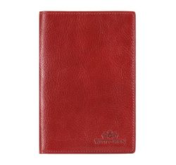 Etui na dokumenty, czerwony, 21-5-137-3, Zdjęcie 1